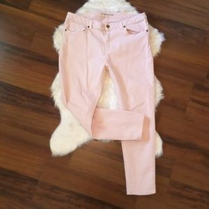 Michael Kors skinny Pink ankle Crops size 12